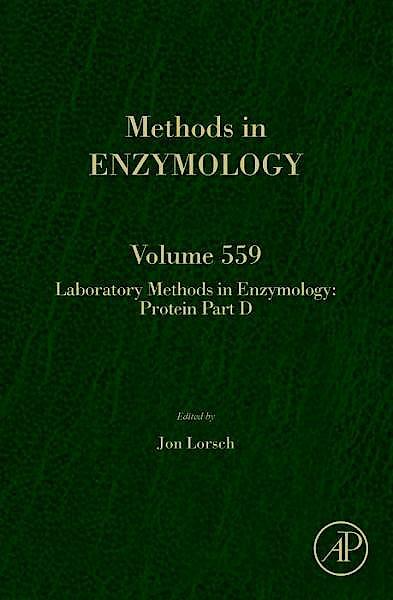 Portada del libro 9780128002797 Laboratory Methods in Enzymology: Protein Part D (Methods in Enzymology, Vol. 559)