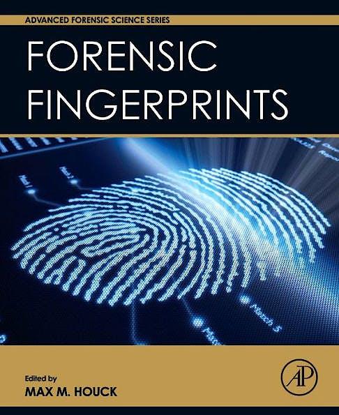Portada del libro 9780128005736 Forensic Fingerprints