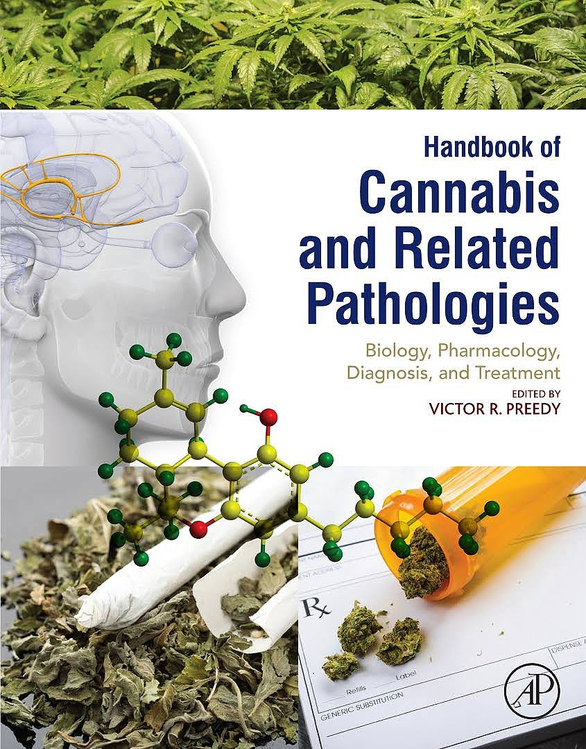 Portada del libro 9780128007563 Handbook of Cannabis and Related Pathologies
