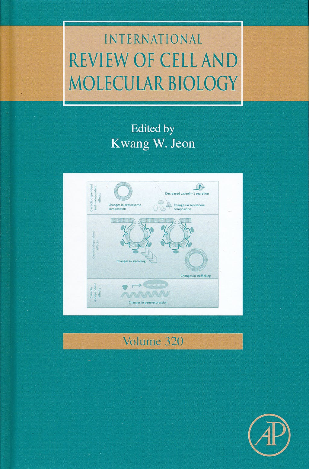 Portada del libro 9780128022771 International Review of Cell and Molecular Biology, Vol. 320
