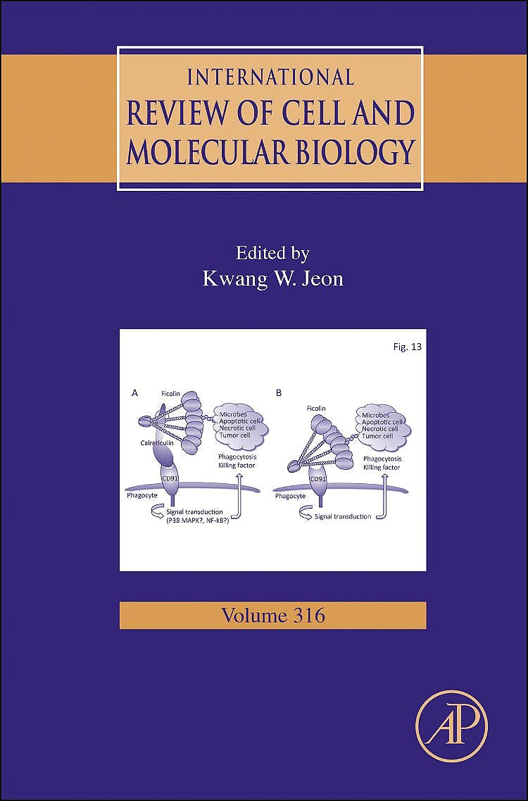 Portada del libro 9780128022818 International Review of Cell and Molecular Biology, Vol. 316