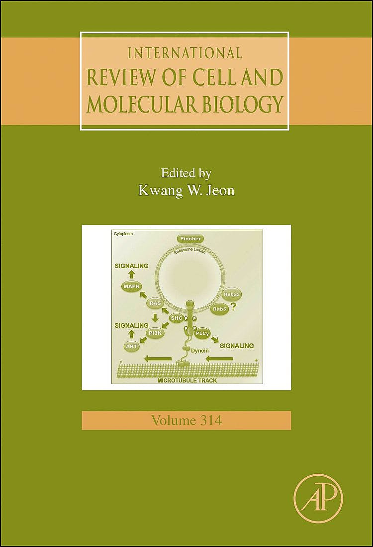 Portada del libro 9780128022832 International Review of Cell and Molecular Biology, Vol. 314