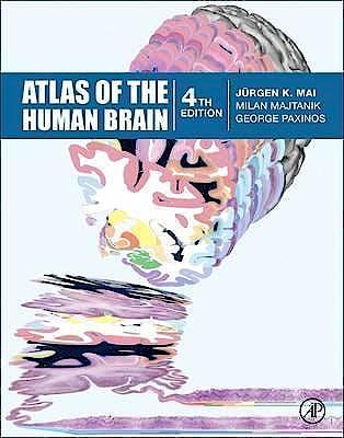 Portada del libro 9780128028001 Atlas of the Human Brain
