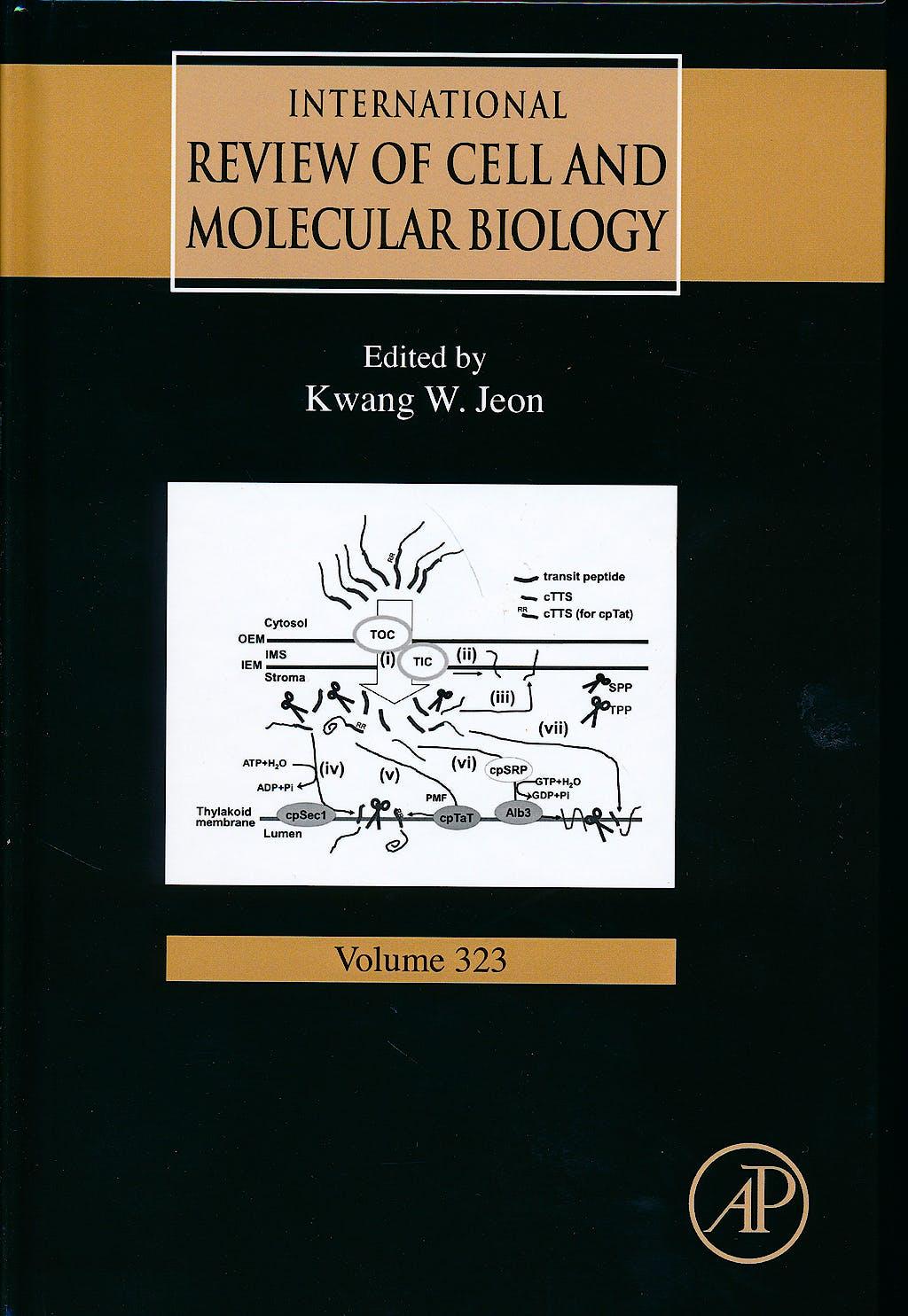 Portada del libro 9780128048085 International Review of Cell and Molecular Biology, Vol. 323