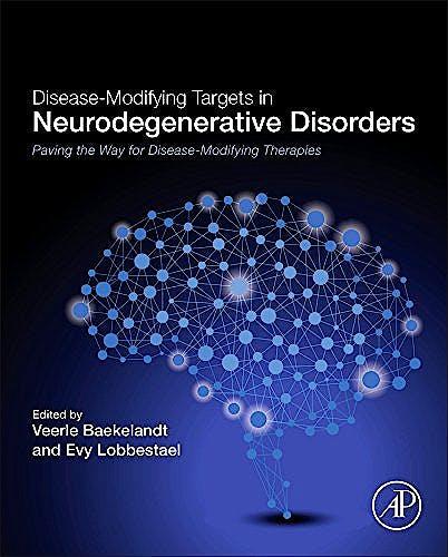 Portada del libro 9780128051207 Disease-Modifying Targets in Neurodegenerative Disorders. Paving the Way for Disease-Modifying Therapies