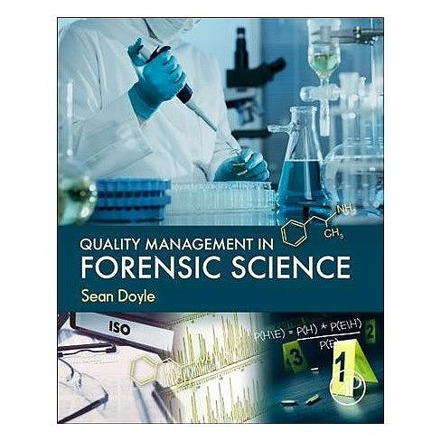 Portada del libro 9780128054161 Quality Management in Forensic Science