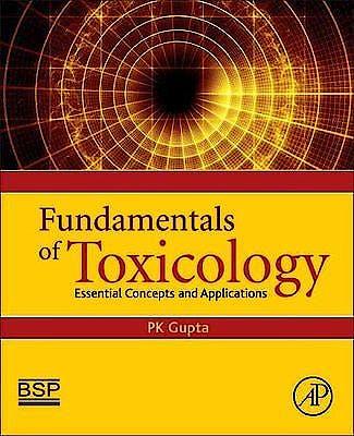 Portada del libro 9780128054260 Fundamentals of Toxicology. Essential Concepts and Applications