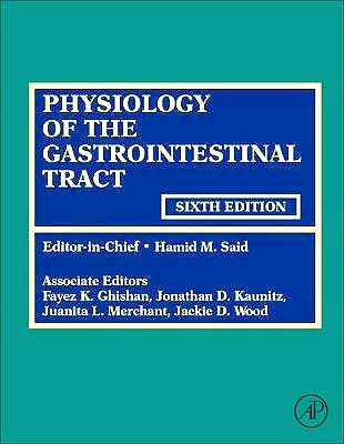 Portada del libro 9780128099544 Physiology of the Gastrointestinal Tract, 2 Vols.