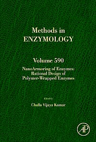 Portada del libro 9780128105023 Nanoarmoring of Enzymes: Rational Design of Polymer-Wrapped Enzymes (Methods in Enzymology, Vol. 590)