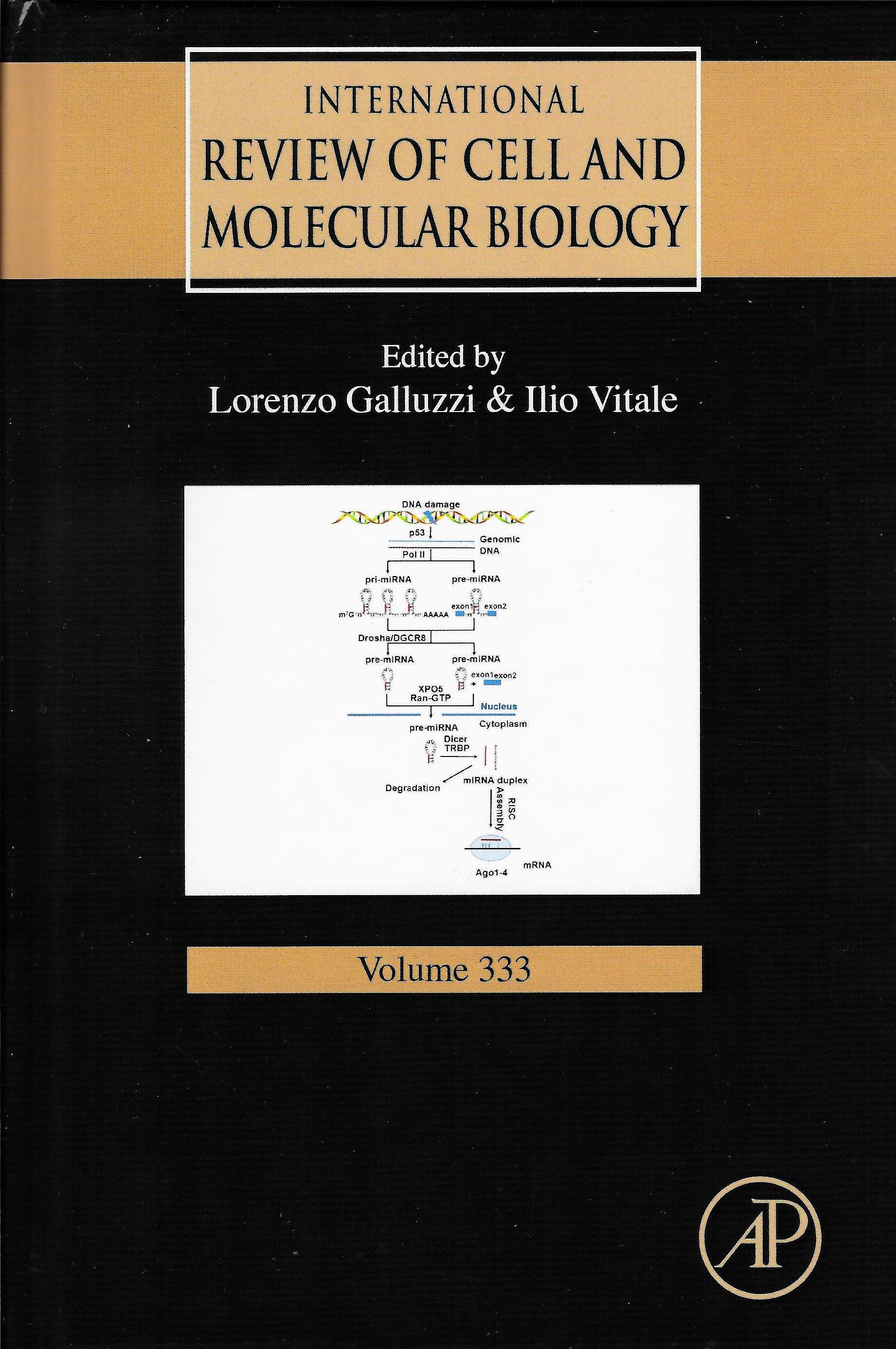 Portada del libro 9780128118702 International Review of Cell and Molecular Biology, Vol. 333