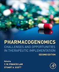Portada del libro 9780128126264 Pharmacogenomics. Challenges and Opportunities in Therapeutic Implementation