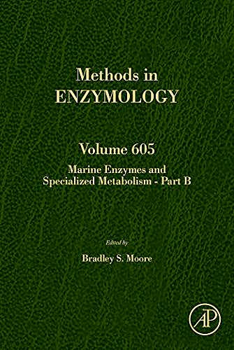 Portada del libro 9780128150450 Marine Enzymes and Specialized Metabolism - Part B (Methods in Enzymology, Vol. 605)