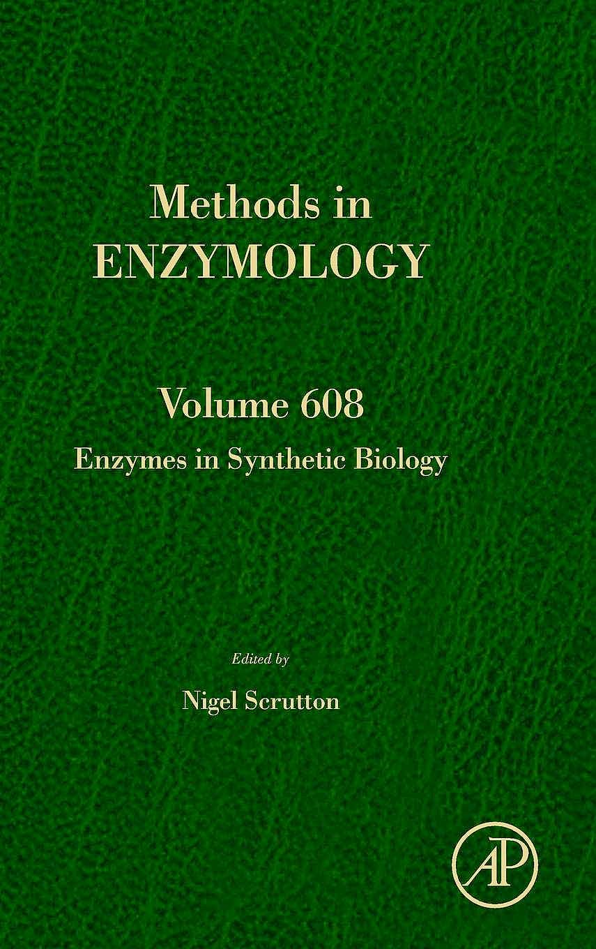 Portada del libro 9780128151488 Enzymes in Synthetic Biology (Methods in Enzymology, Vol. 608)