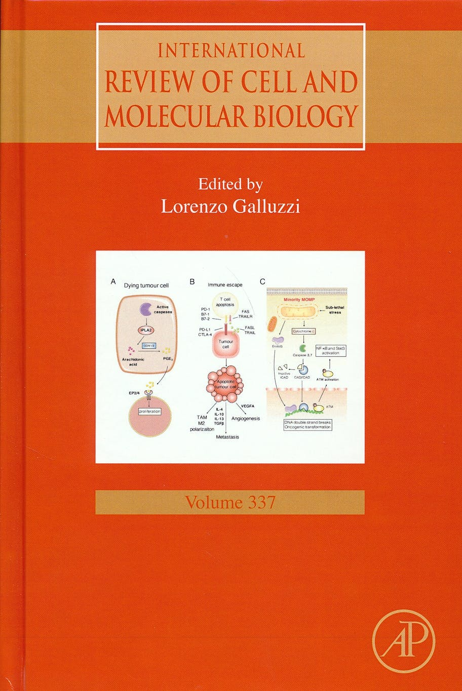 Portada del libro 9780128151952 International Review of Cell and Molecular Biology, Vol. 337