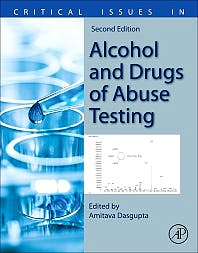 Portada del libro 9780128156070 Critical Issues in Alcohol and Drugs of Abuse Testing