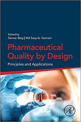 Portada del libro 9780128157992 Pharmaceutical Quality by Design: Principles and Applications