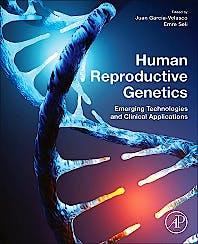Portada del libro 9780128165614 Human Reproductive Genetics