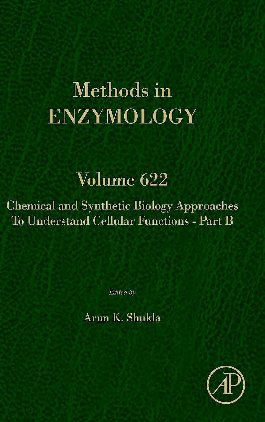 Portada del libro 9780128181195 Chemical and Synthetic Biology Approaches to Understand Cellular Functions - Part A (Methods in Enzymology, Vol. 622)