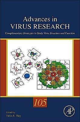 Portada del libro 9780128184561 Advances in Virus Research, Vol. 105