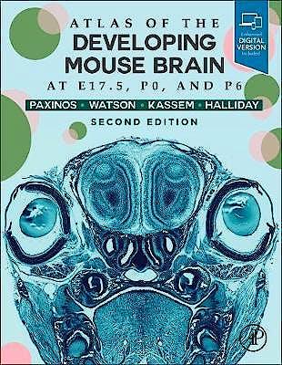 Portada del libro 9780128185438 Atlas of the Developing Mouse Brain