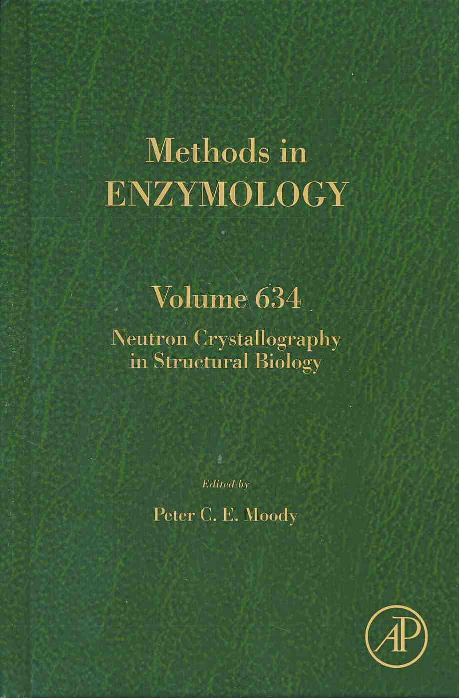 Portada del libro 9780128192146 Neutron Crystallography in Structural Biology (Methods in Enzymology, Vol. 634)
