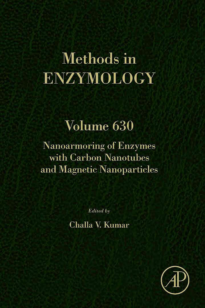Portada del libro 9780128201435 Nanoarmoring of Enzymes with Carbon Nanotubes and Magnetic Nanoparticles (Methods in Enzymology, Vol. 630)
