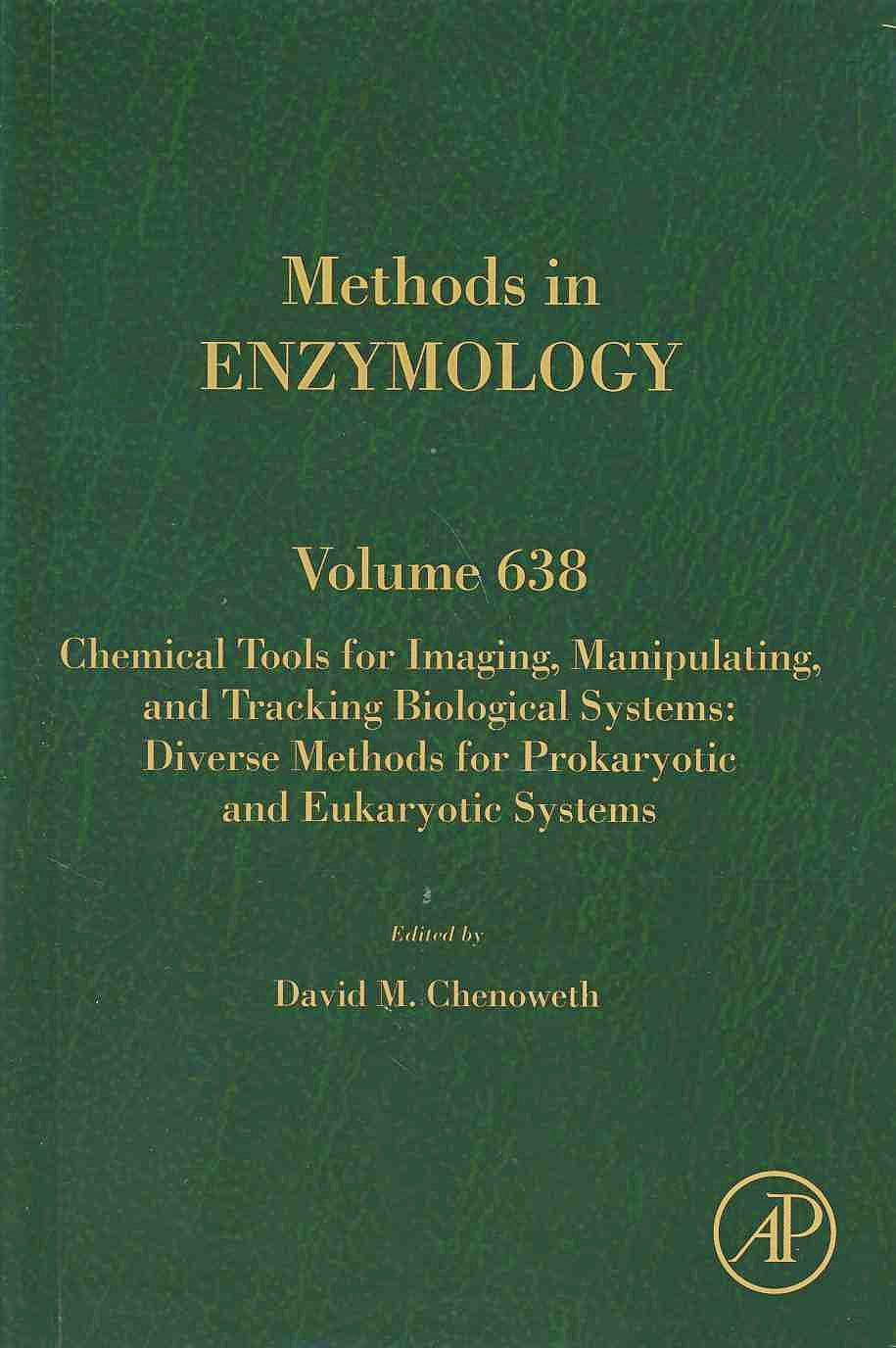 Portada del libro 9780128201459 Chemical Tools for Imaging, Manipulating, and Tracking Biological Systems...(Methods in Enzymology, Vol. 638)