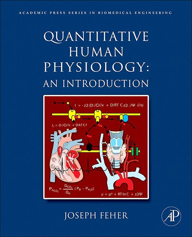 Portada del libro 9780128204764 Quantitative Human Physiology. An Introduction