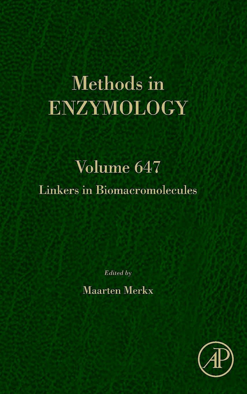 Portada del libro 9780128208182 Linkers in Biomacromolecules (Methods in Enzymology, Vol. 647)