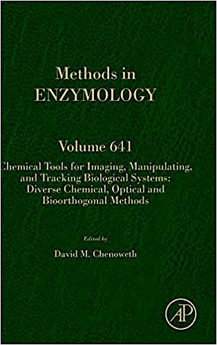 Portada del libro 9780128211564 Chemical Tools for Imaging, Manipulating, and Tracking Biological Systems: Diverse Chemical, Optical and… (Methods in Enzymology, Vol. 641)