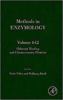 Portada del libro 9780128211571 Odorant Binding and Chemosensory Proteins (Methods in Enzymology, Vol. 642)