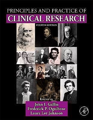 Portada del libro 9780128499054 Principles and Practice of Clinical Research