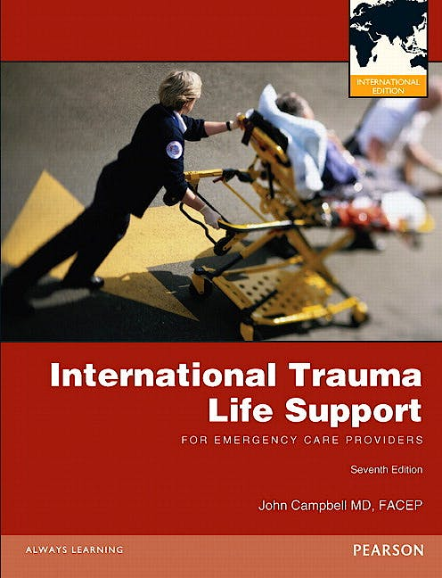 Portada del libro 9780132766661 International Trauma Life Support (Itls) for Emergency Care Providers (International Edition)