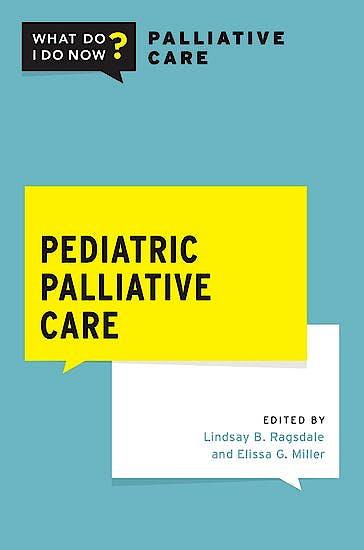 Portada del libro 9780190051853 Pediatric Palliative Care