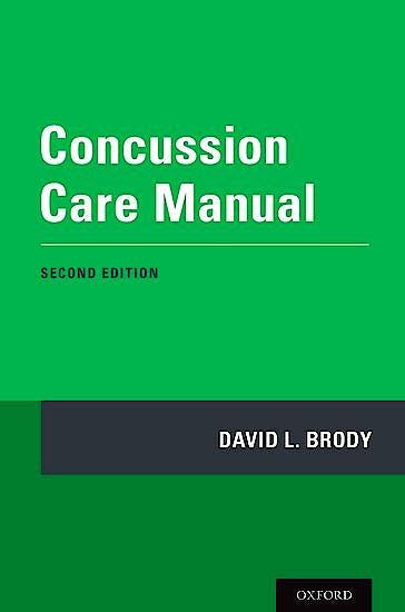 Portada del libro 9780190054793 Concussion Care Manual