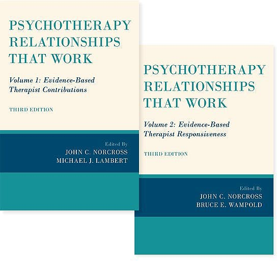 Portada del libro 9780190069292 Psychotherapy Relationships that Work (2 Volume Set)
