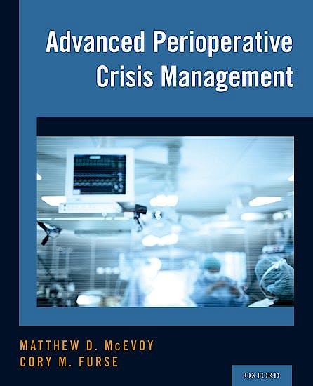Portada del libro 9780190226459 Advanced Perioperative Crisis Management