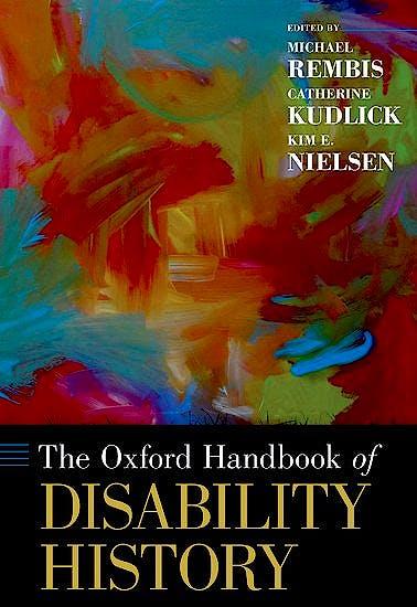 Portada del libro 9780190234959 The Oxford Handbook of Disability History