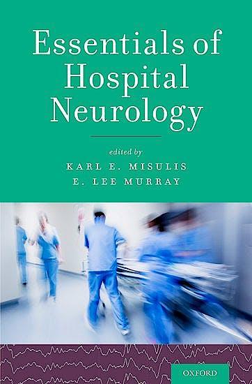 Portada del libro 9780190259419 Essentials of Hospital Neurology