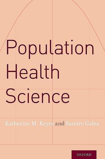 Portada del libro 9780190459376 Population Health Science