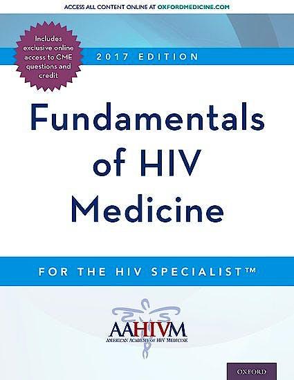 Portada del libro 9780190493097 Fundamentals of Hiv Medicine 2017