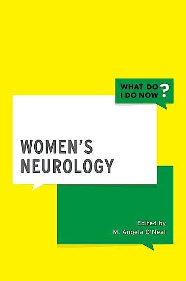 Portada del libro 9780190609917 Women's Neurology