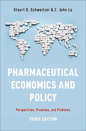 Portada del libro 9780190623784 Pharmaceutical Economics and Policy. Perspectives, Promises, and Problems