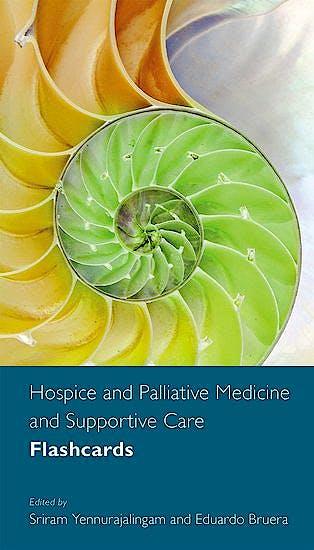 Portada del libro 9780190633066 Hospice and Palliative Medicine and Supportive Care Flashcards