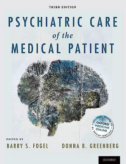 Portada del libro 9780190636807 Psychiatric Care of the Medical Patient (Softcover)