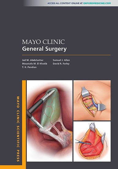 Portada del libro 9780190650506 Mayo Clinic General Surgery