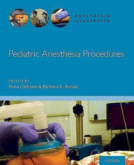 Portada del libro 9780190685188 Pediatric Anesthesia Procedures