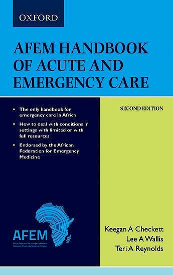 Portada del libro 9780190722821 AfEM Handbook of Acute and Emergency Care (Medical)