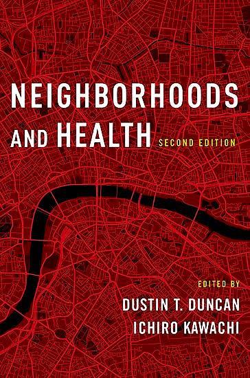 Portada del libro 9780190843502 Neighborhoods and Health