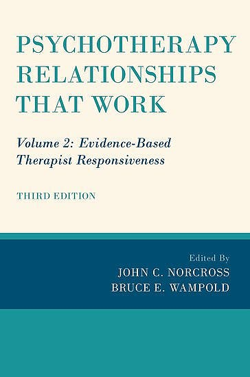 Portada del libro 9780190843960 Psychotherapy Relationships that Work, Vol. 2: Evidence-Based Therapist Responsiveness